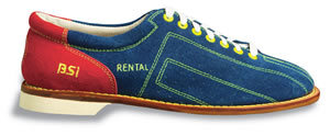 Retro Vintage Flats and Low Heel Shoes Womens Rental Style Bowling Shoes $34.95 AT vintagedancer.com