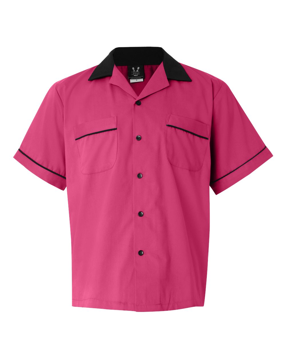 How to Dress for a 50s Sock Hop Classic Bowler 2.0 Bowling Shirt - Pink  Black $39.95 AT vintagedancer.com