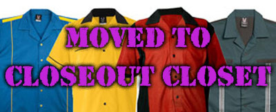 Bowlingshirt Com Closeout Closet Deal Of The Week And