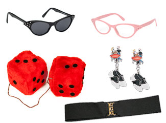 Fun 50's Retro Accessories