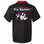 Pin Busters Stock Print on Swing Master 2.0 Bowling Shirt