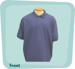 Closeout Royal Blue Polo Shirt