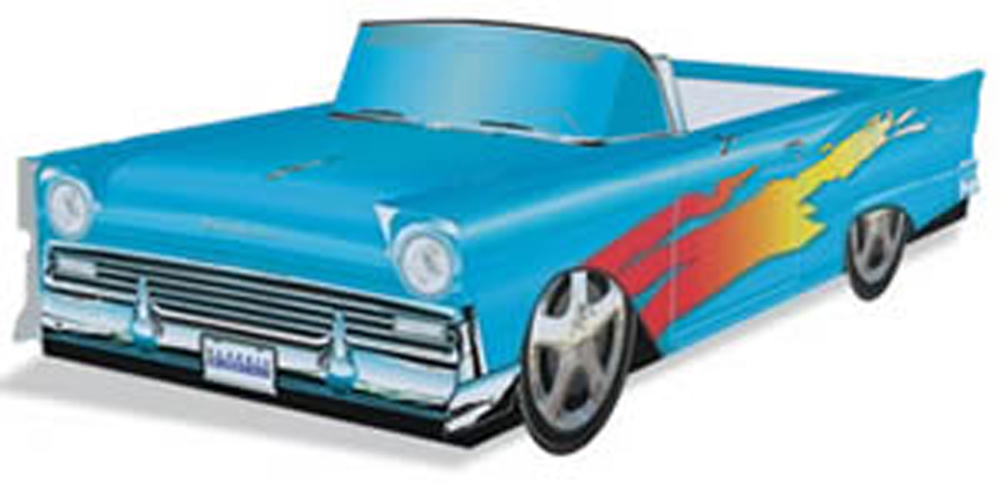 '57 Ford Fairlane Hot Rod (Light Blue)