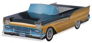 '57 Ford Fairlane Skyliner (Black/Gold)