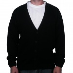 Black Letterman Sweater
