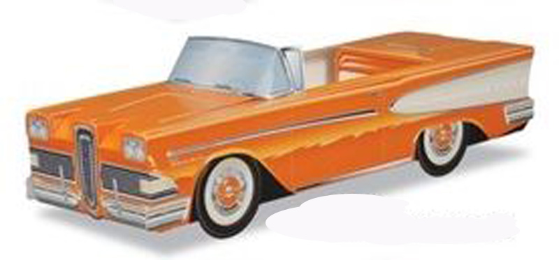 '58 Ford Edsel Pacer (Orange)