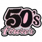 50's Forever Chenille Patch