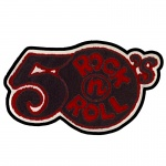 50's Rock N Roll Chenille Patch