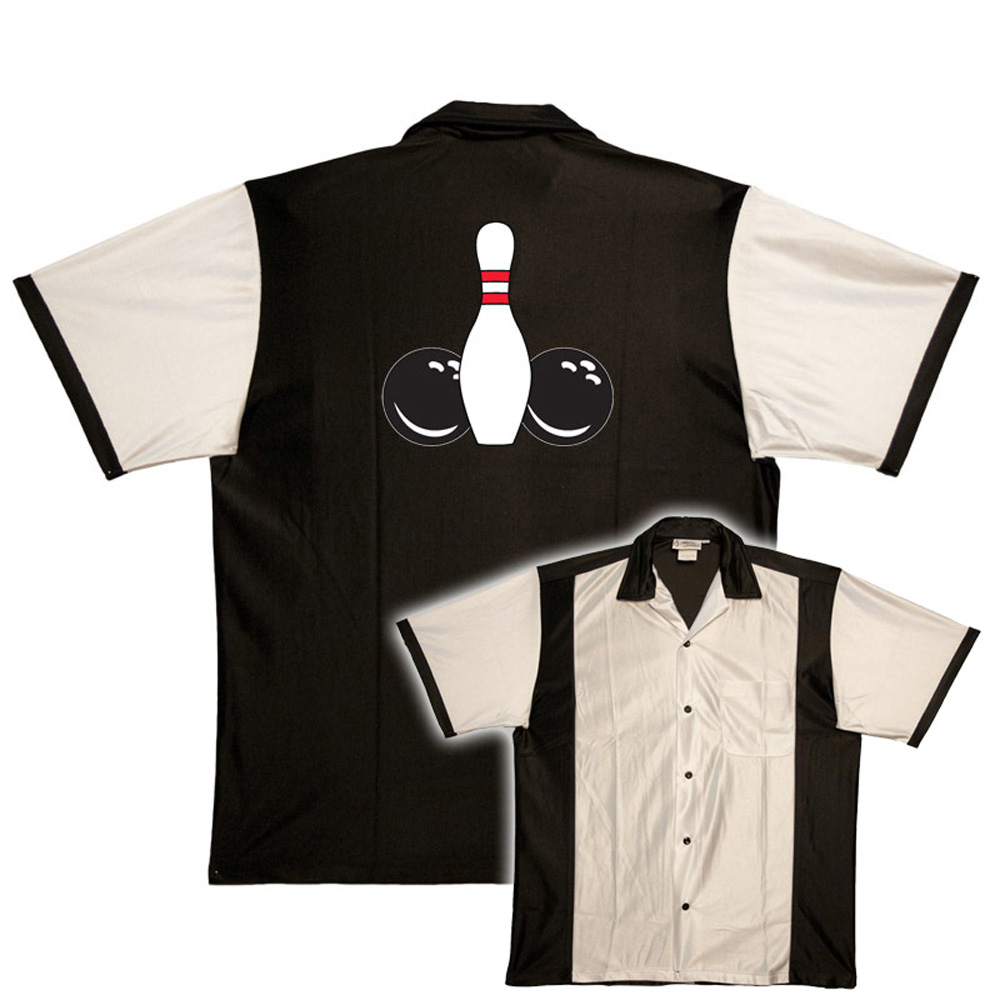 Embroidered Retro Bowling Shirts