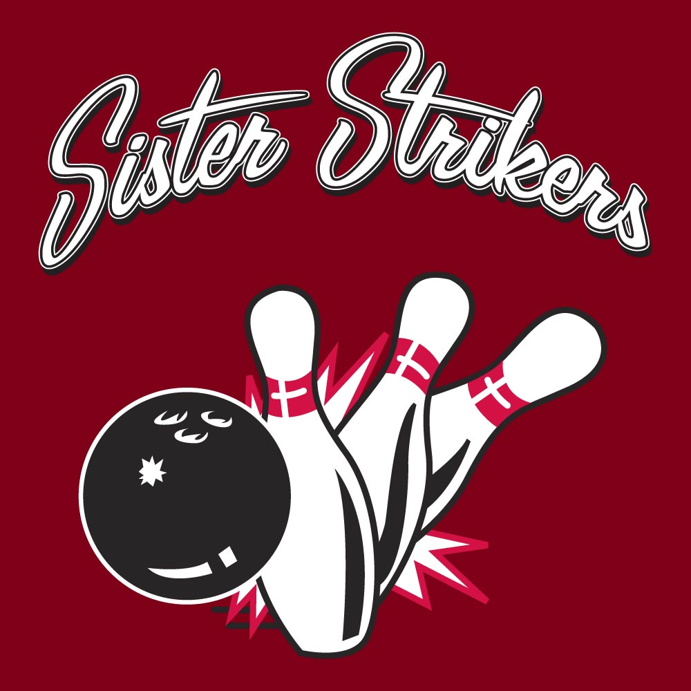 Sister Strikers Graphic Heavy Cotton T-Shirt