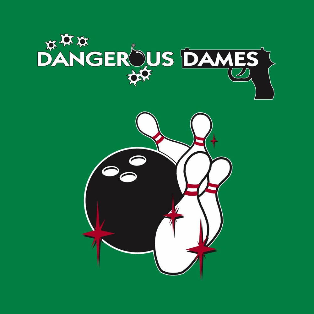 Dangerous Dames Graphic Heavy Cotton T-Shirt