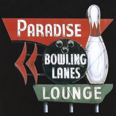 Paradise Lanes On Retro Bowling Shirts