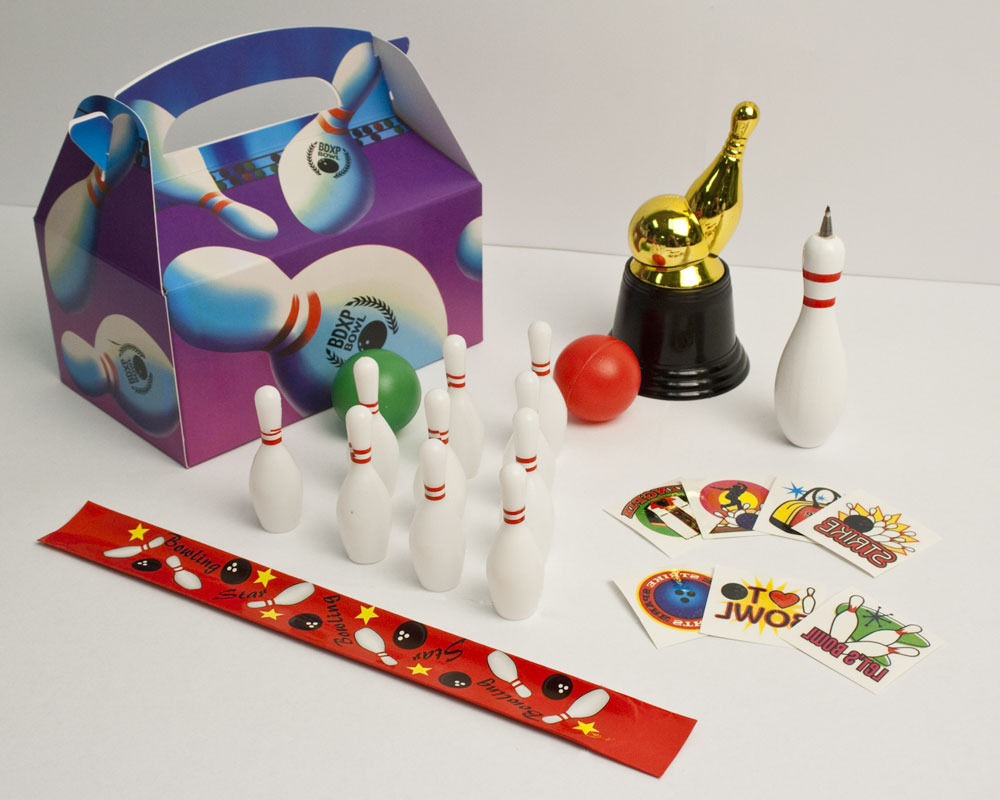 Bowling Party Goody Box