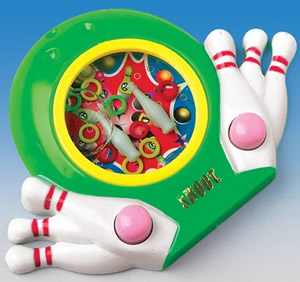 Bowling Water Ring Toss Game