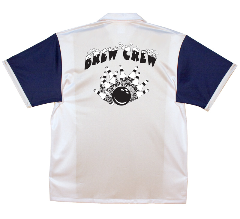 Brew Crew Stock Print on Retro Bowler