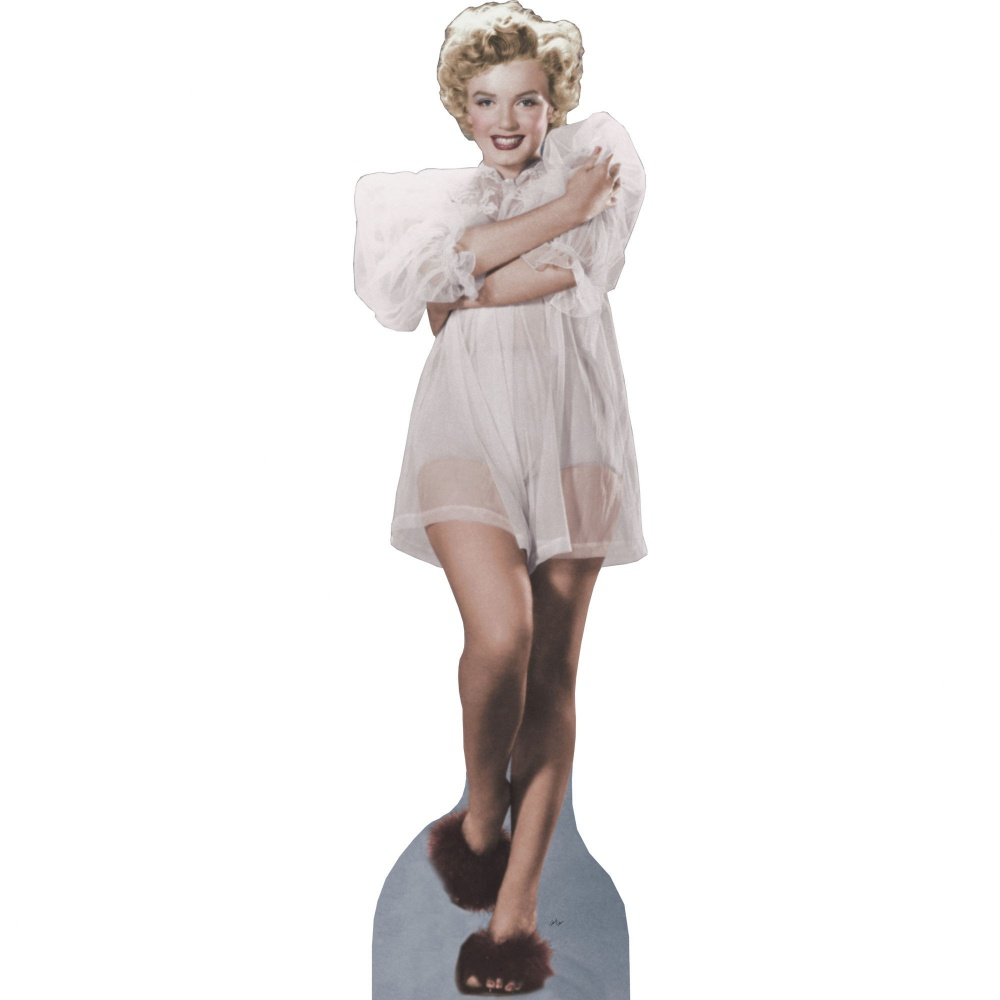 Marilyn Monroe Standup (White Nightgown)