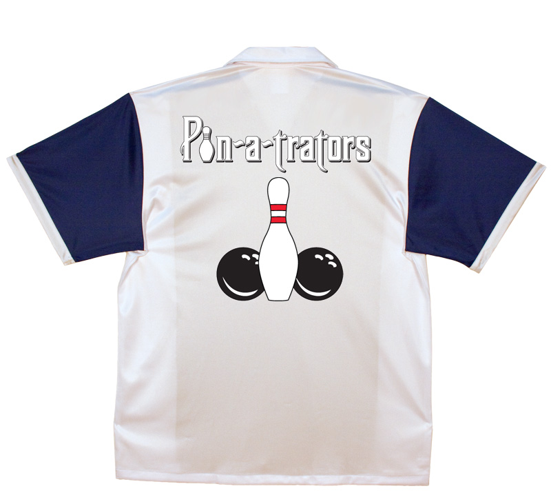 Pin-A-Trators Stock Print on Retro Bowler