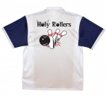 Holy Rollers Stock Print on Retro Bowler