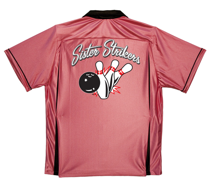 Sister Strikers Stock Print on Classic Bowler