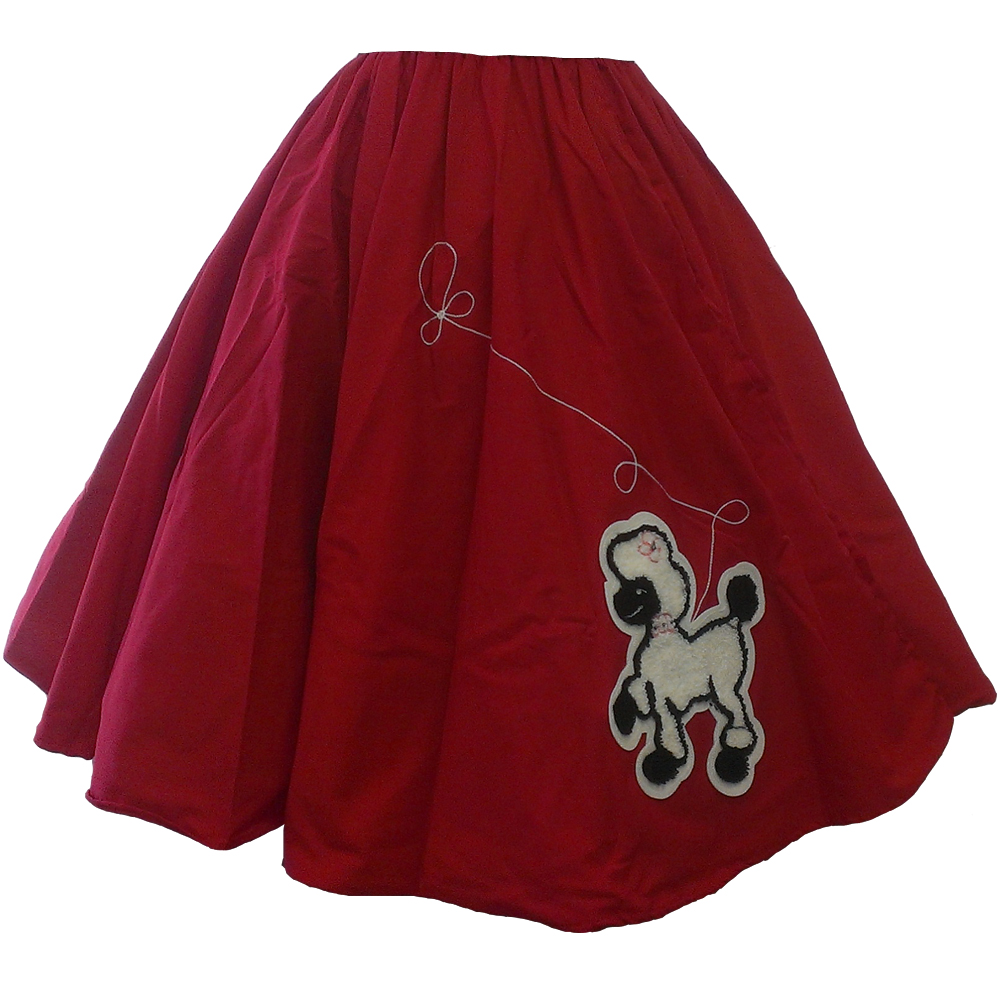 Adult Poodle Skirt