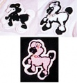 "4"" Loose Poodle Patches"