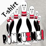 Pinguins Stock Print on Youth T-Shirt