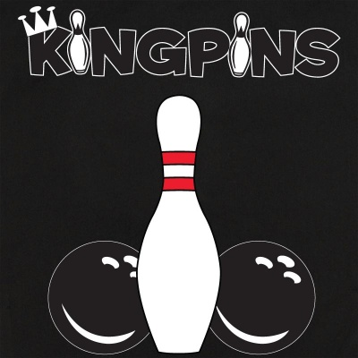 Button Up Legend 2244 Bowling Shirt With Kingpins on Back