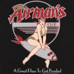Button Up Legend 2244 Bowling Shirt With Airman's