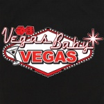 Button Up Alleycat 2241 Bowling Shirt With Vegas Baby Vegas