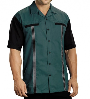 Hunter Rockaway 2248 Button Up Bowling Shirt