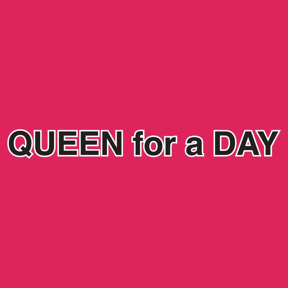 Queen For a Day Graphic Heavy Cotton T-Shirt