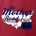Route 66 Mother Road Graphic Heavy Cotton T-Shirt