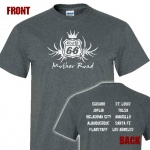 Route 66 Tour Graphic Heavy Cotton T-Shirt