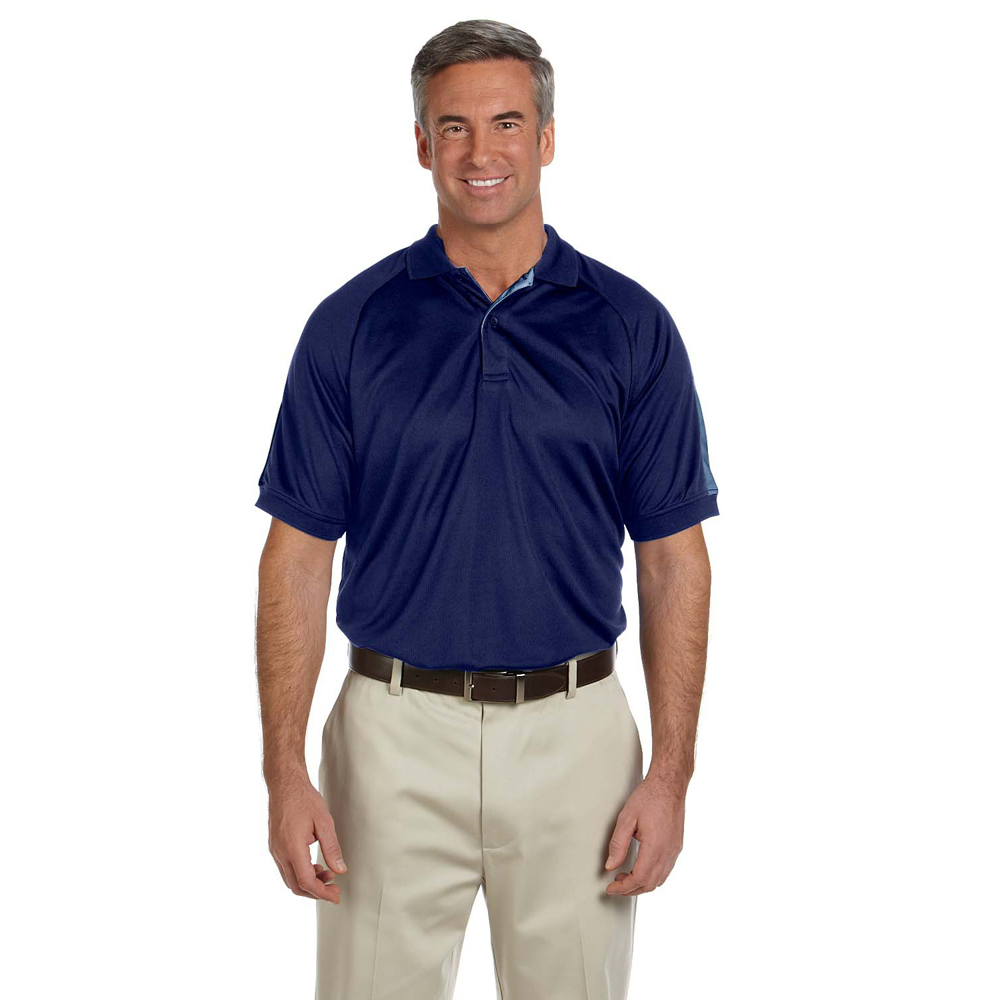 Devon & Jones Dri-Fast Advantage Colorblock Mesh Polo