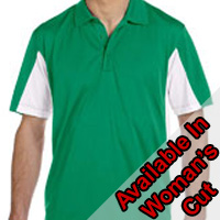 Harriton Side Blocked Micro-Pique Polo