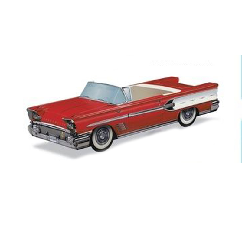 Red Pontiac Bonneville:  Party Supplies