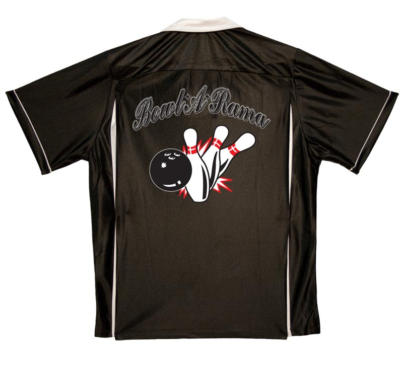 Bowl-A-Rama Stock Print on Youth Bowling Shirts