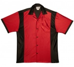 Youth Retro Bowler - Red & Black
