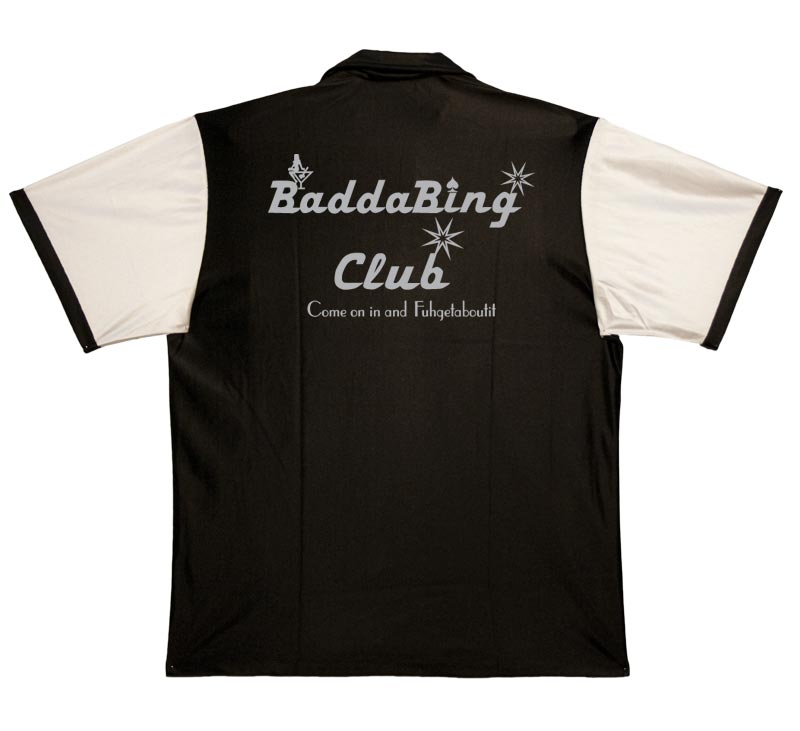 BaddaBing Club Stock Print on Retro Bowler