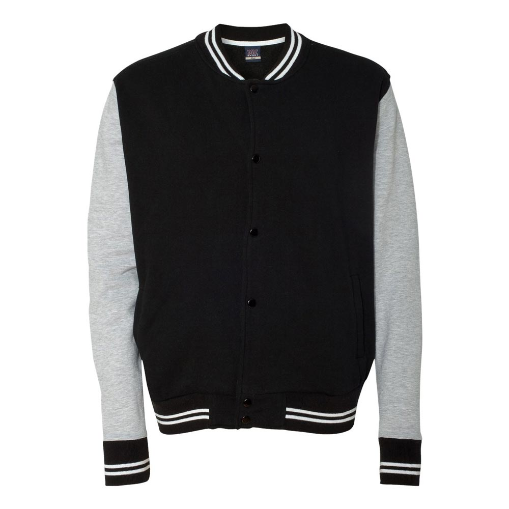 50s Men's Jackets| Greaser Jackets, Leather, Bomber, Gaberdine Varsity Sweatshirt Jacket - ST270 $39.95 AT vintagedancer.com