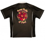Great Balls of Fire Stock Print on Classic Bowler