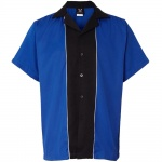 Swing Master 2.0 Bowling Shirt - Royal & Black