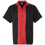 Swing Master 2.0 Bowling Shirt - Black & Red