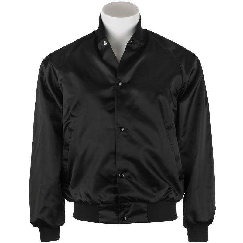 Black Satin Jacket - SM