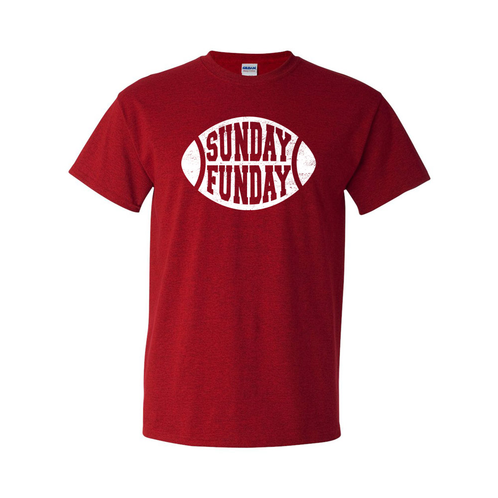 Sunday Funday Graphic Heavy Cotton T-Shirt