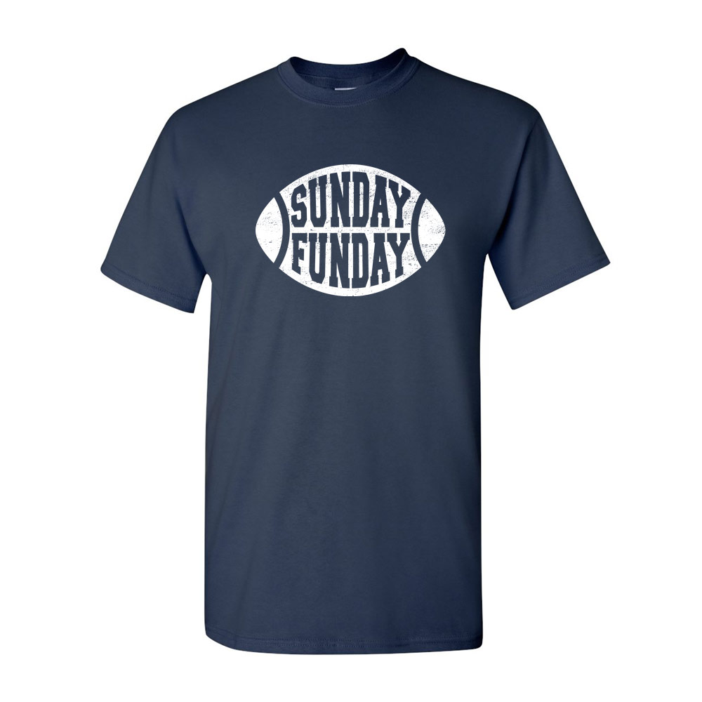 Sunday funday graphic heavy cotton t shirt for Where can i sell t shirts