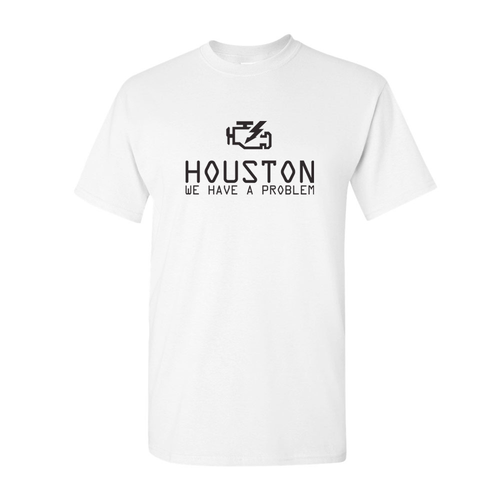 Houston we have a problem stock print for T shirt printing houston