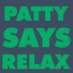 Patty Says Relax Graphic Heavy Cotton T-Shirt