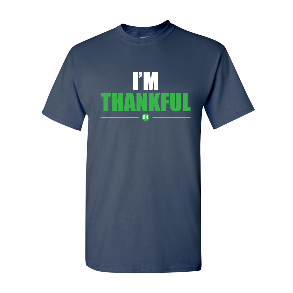 I'm Thankful Graphic Heavy Cotton T-Shirt