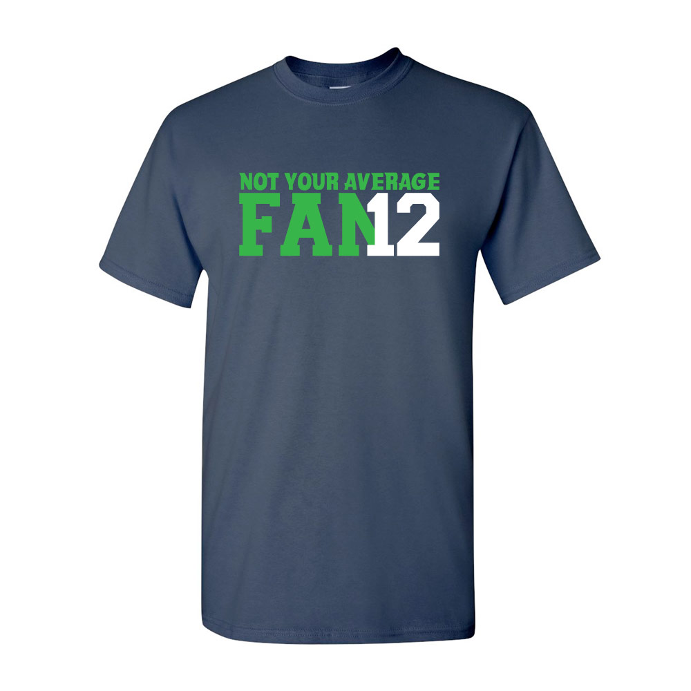 Image of 12th Man Graphic Heavy Cotton T-Shirt